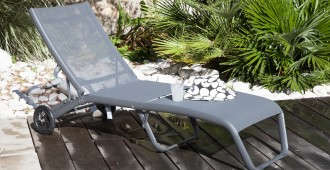 mobilier de jardin toile photo