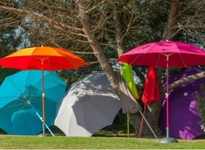 parasol coloré