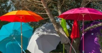 se protéger du soleil parasol couleur
