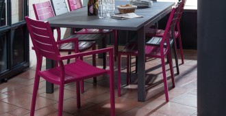 mobilier de jardin en intérieur visuel