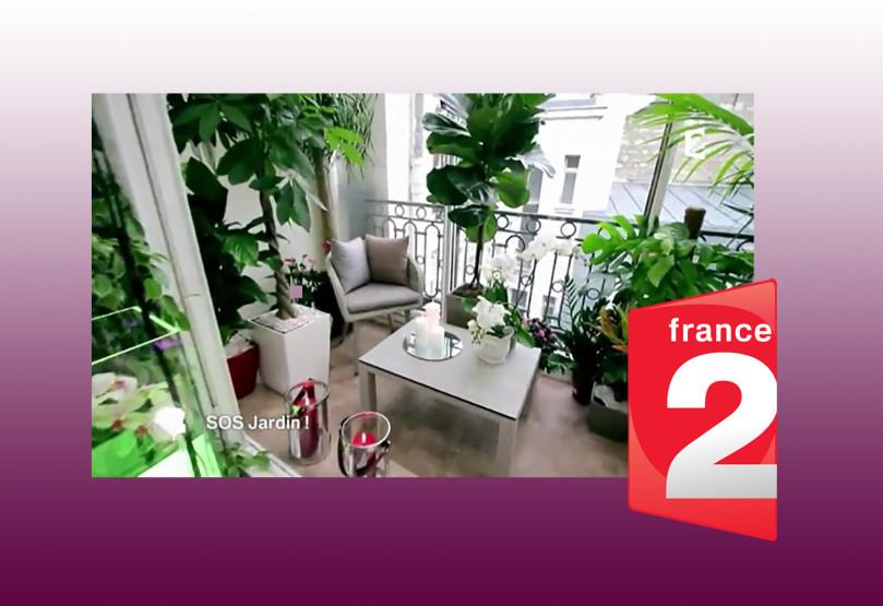 Notre mobilier de jardin sur france 2 le blog for Mobilier de jardin colore