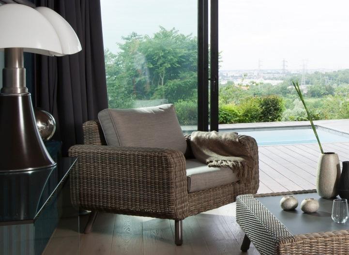 le mobilier 2 en 1 fauteuil détente vigo