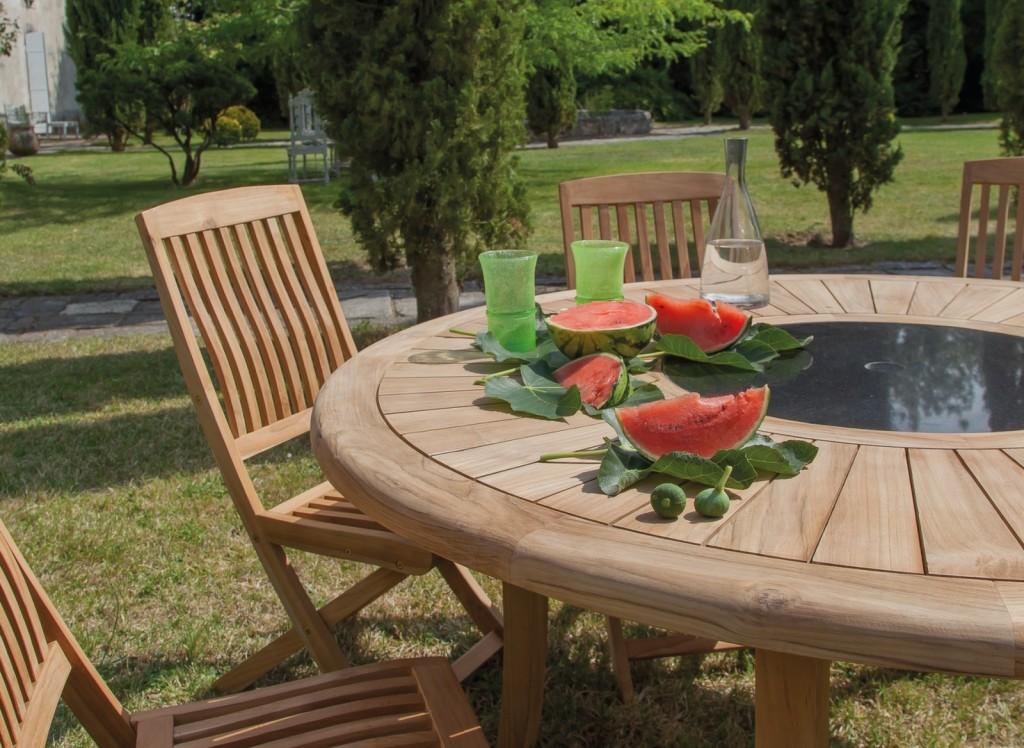 produits d'entretien pour mobilier de jardin en résine tréssée