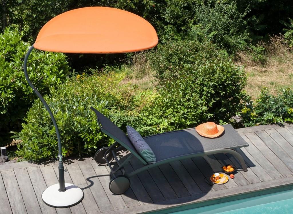 mobilier de jardin original ombrelle butterfly