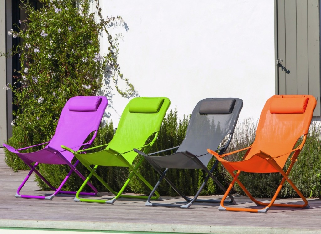 mobilier pour le camping relax pliant easy
