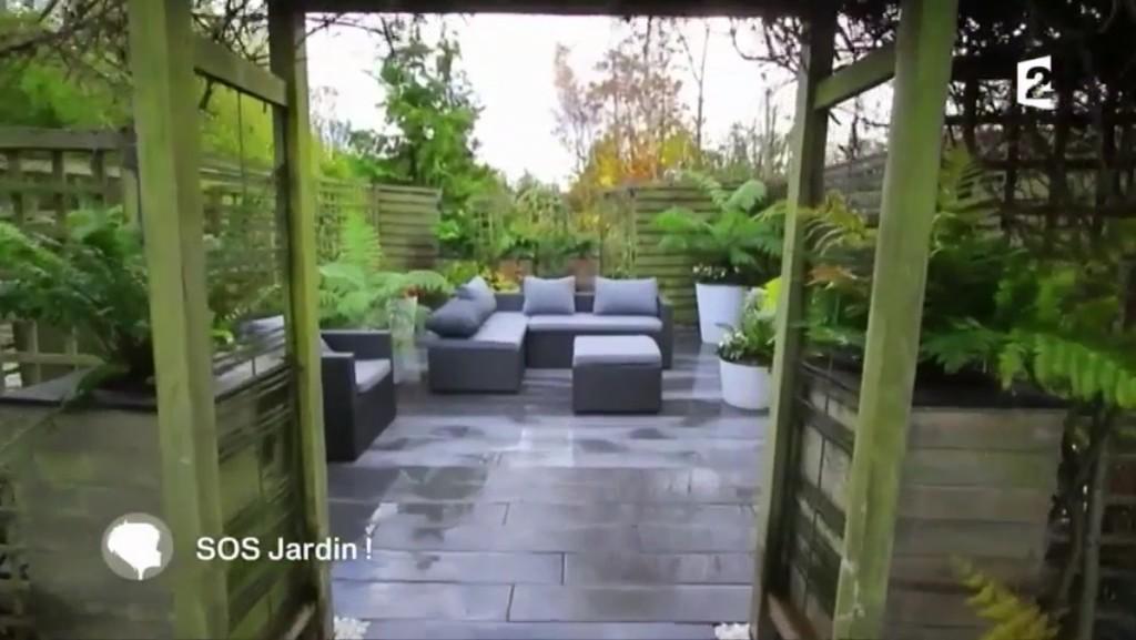 notre mobilier de jardin à la télévision version après