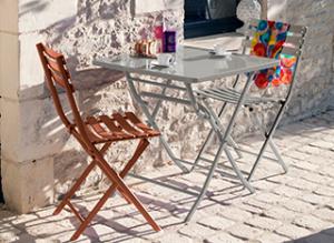L'esprit vintage avec la chaise Nonza Proloisirs