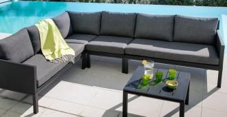 mobilier de jardin pour famille nombreuse