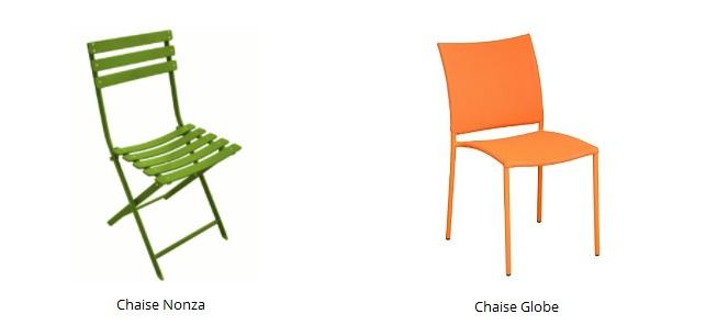 meubler un studio d'étudiant chaise nonza et globe