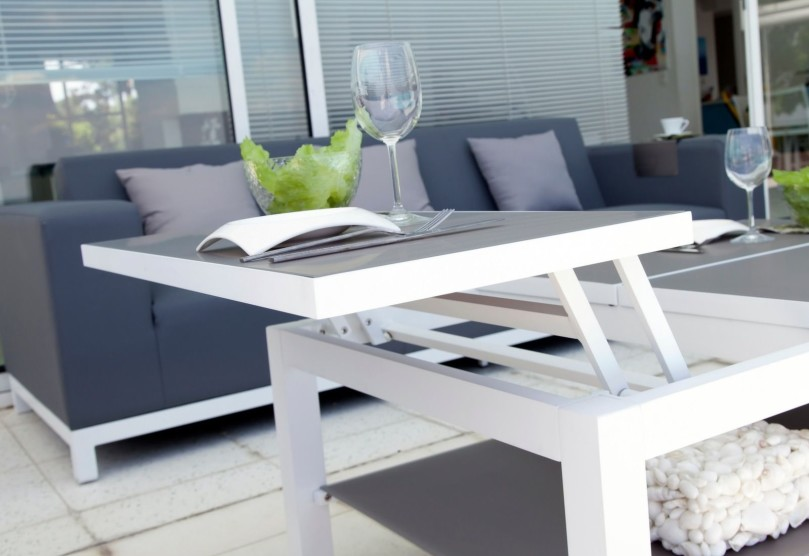 mobilier de jardin malin table basse belle-île