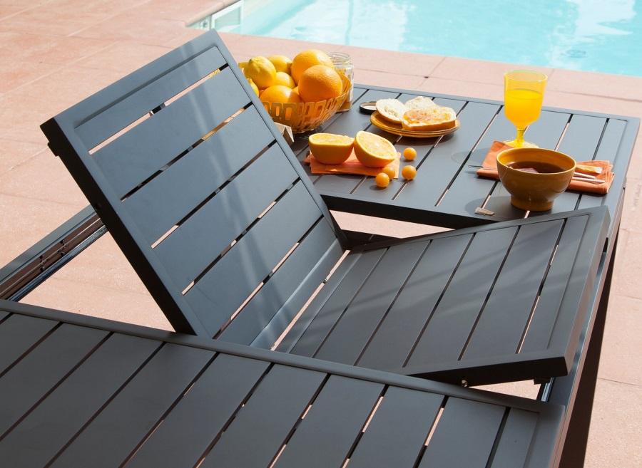 mobilier de jardin malin table de jardin trieste