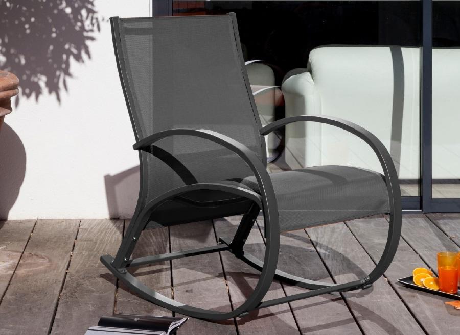 Des qualités des meubles d'extérieur rocking chair