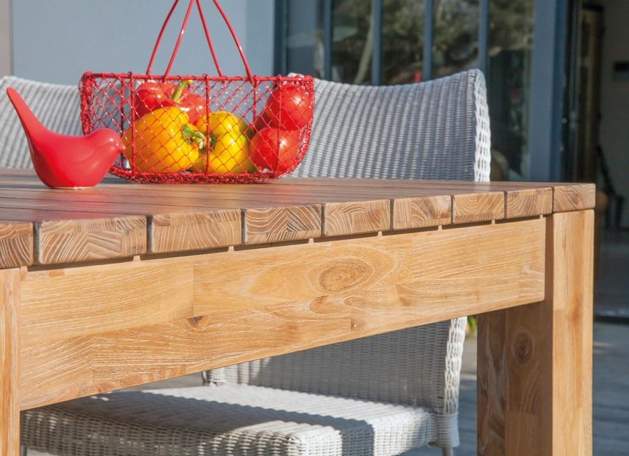 hiverner ses meubles de jardin table bois