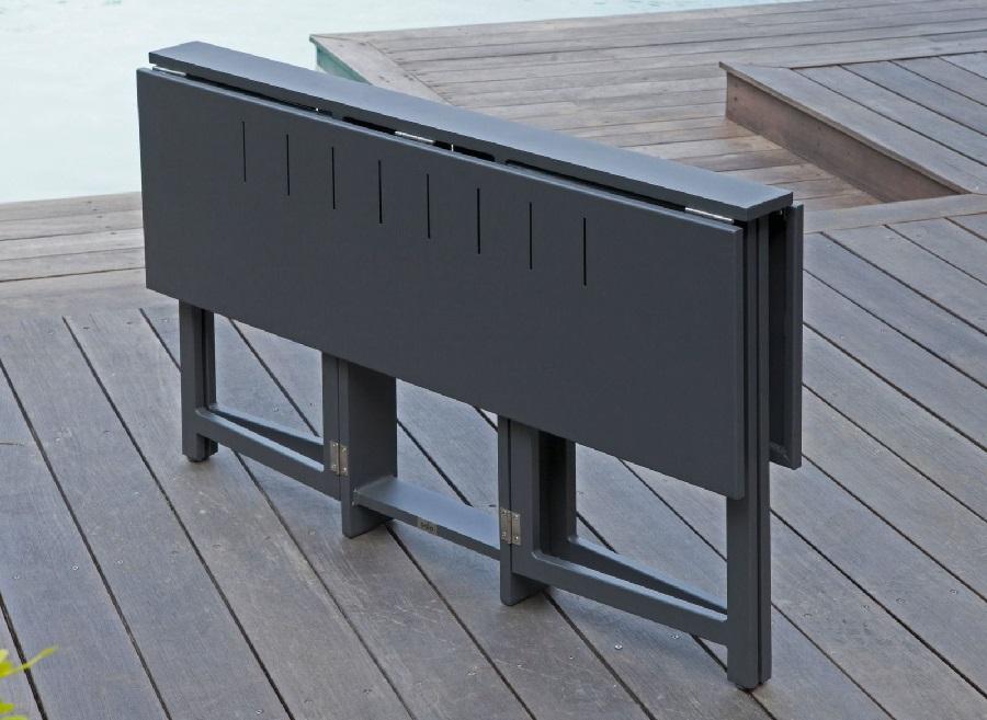 grande tablées avec la table pliante Caly