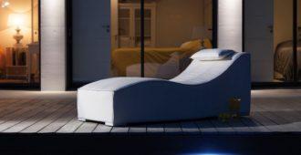 mobilier de jardin design le lit de soleil freeze
