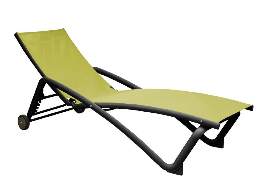 bonnes affaires en mobilier de jardin lit de soleil Zoé