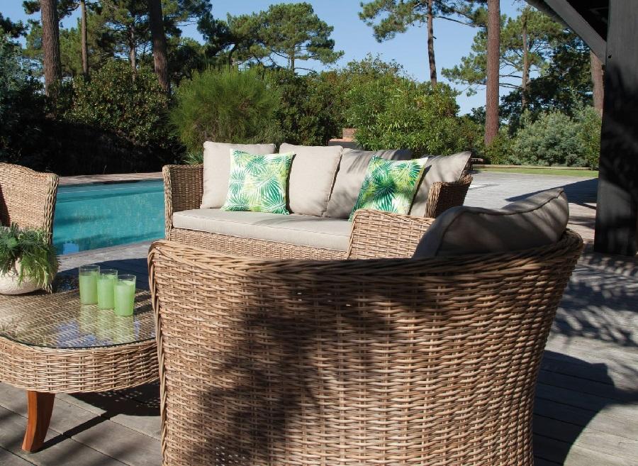 mobilier de jardin préféré ensemble de détente avani