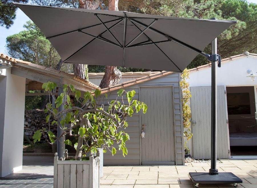 mobilier de jardin préféré parasol déporté NH