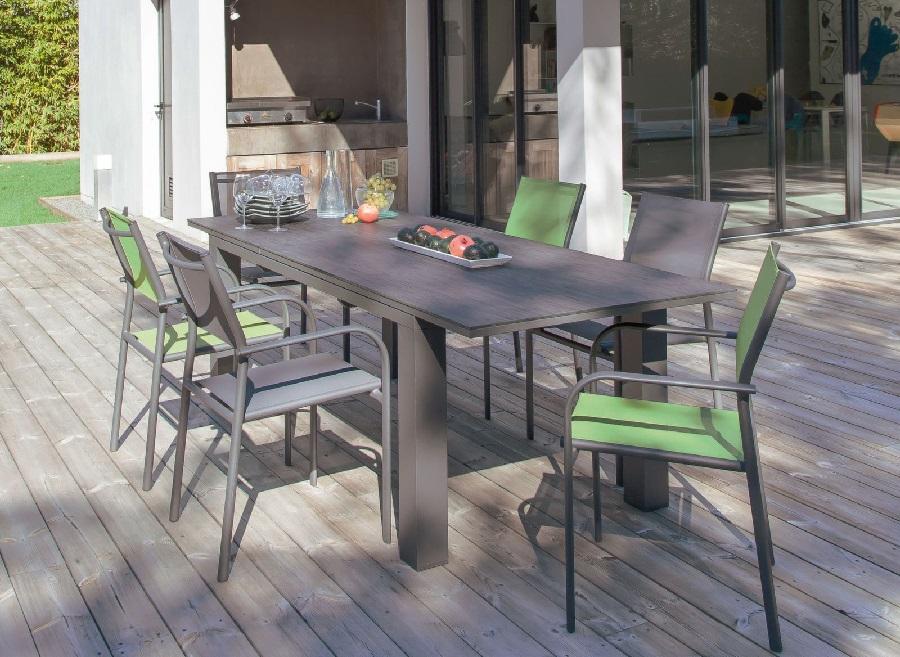 mobilier de jardin préféré table olivier