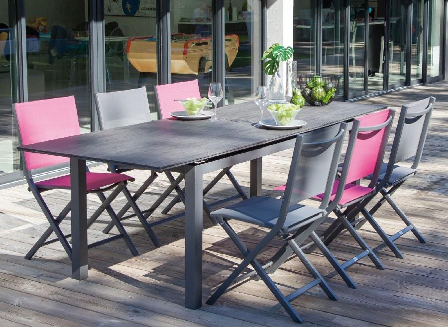 mobilier de jardin préféré table soto