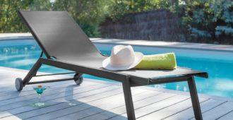 mobilier de jardin pour bronzer lit de soleil florence