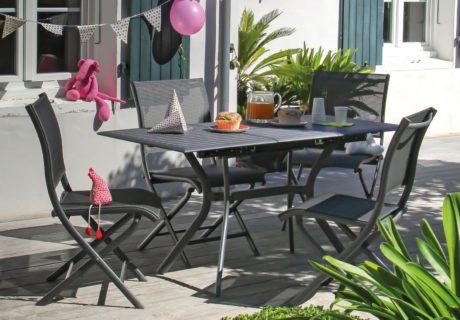 mobilier de jardin pour faire la fête
