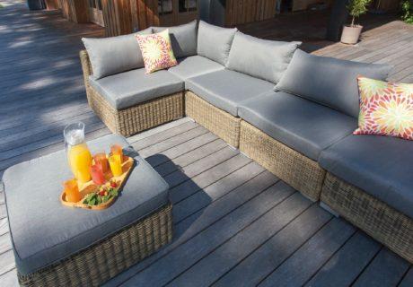 un nouveau salon terrasse