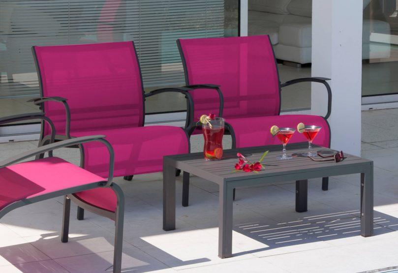 mobilier pour apéros d'été