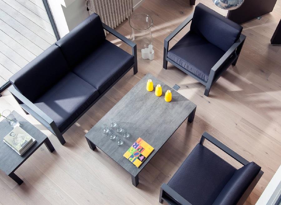 Comment aménager un salon table basse stonéo proloisirs