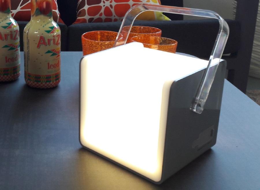 cadeaux de Noël lampe Lampe Enceinte Portable Bluetooth proloisirs