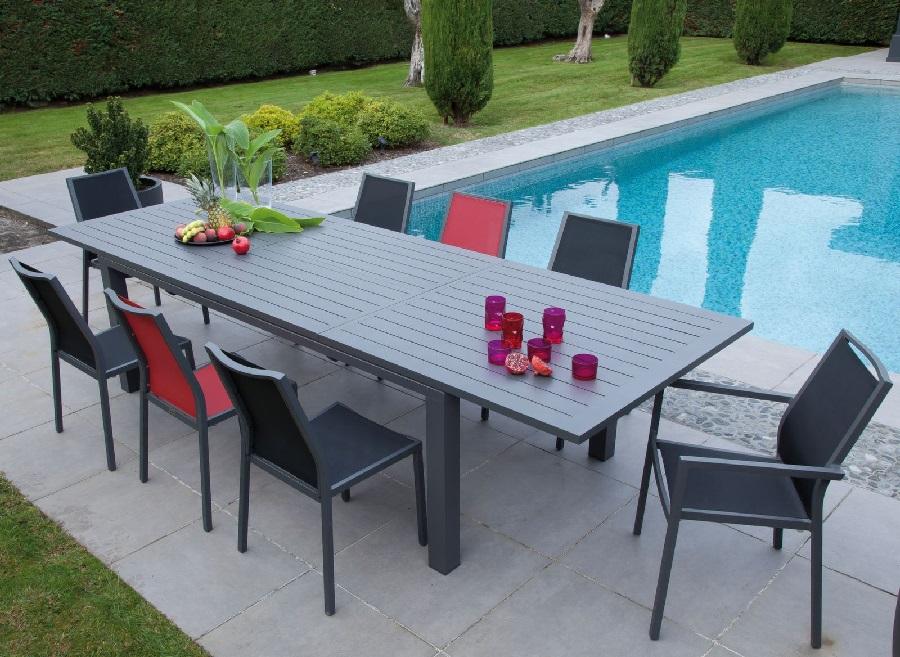 mobilier pour se détendre, manger table vigo proloisirs