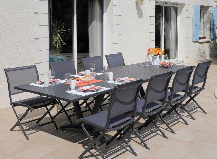 grande table de jardin aube proloisirs