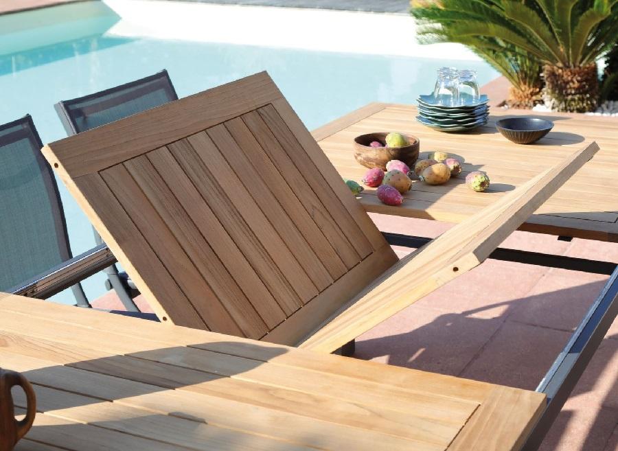 grande table de jardin flo proloisirs