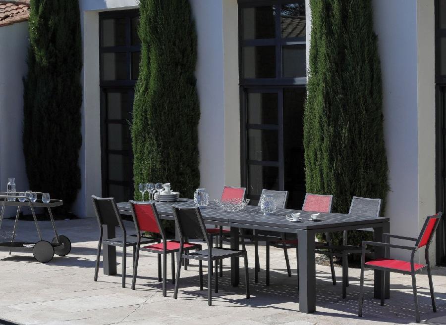 grande table de jardin latino proloisirs