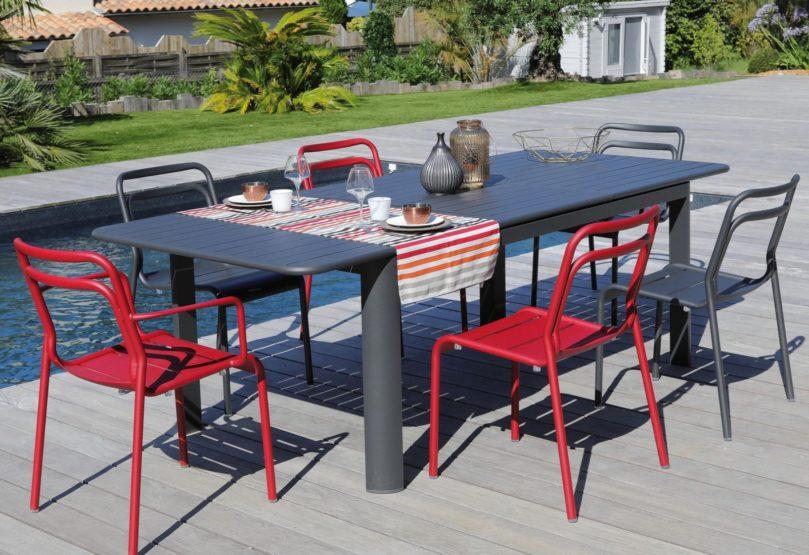 Nouvelles tables de jardin proloisirs