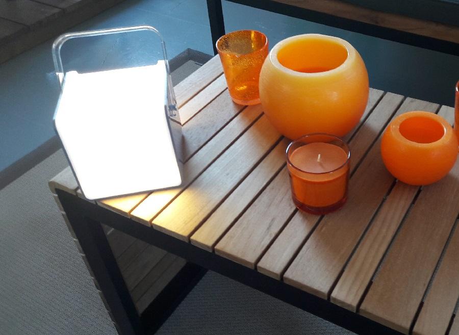 objet nomade Lampe Carrée HP proloisirs