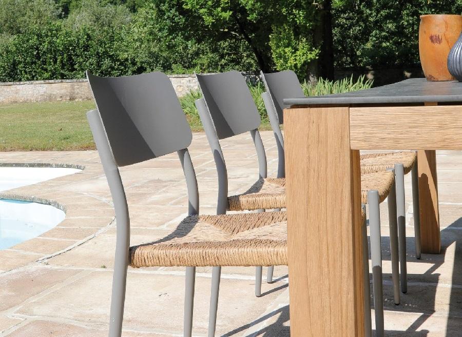 Le mobilier de jardin tendance bohème chaise dublin proloisirs