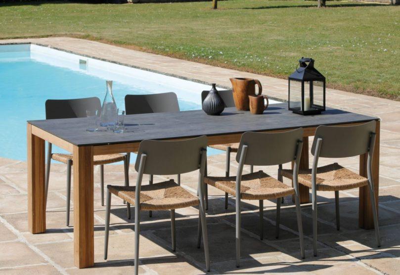 Le mobilier de jardin tendance bohème chaise dublin table asola proloisirs