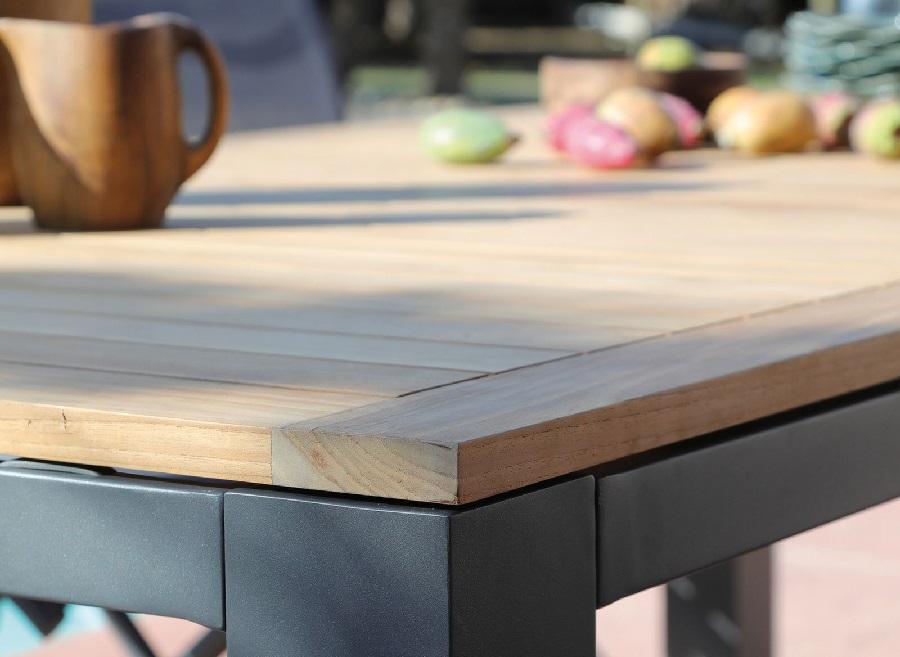 Le mobilier de jardin tendance bohème table de jardin flo proloisirs