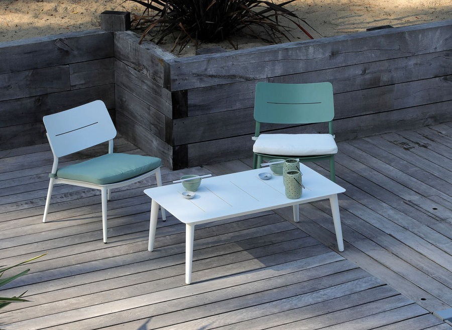 Petit meuble design chaise lounge chic Proloisirs