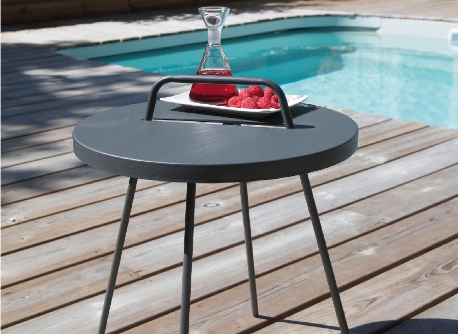 Petit meuble design table basse flower Proloisirs