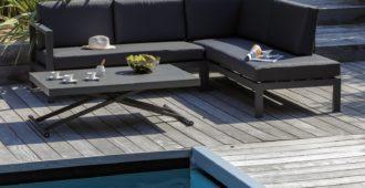 table de jardin relevable proloisirs