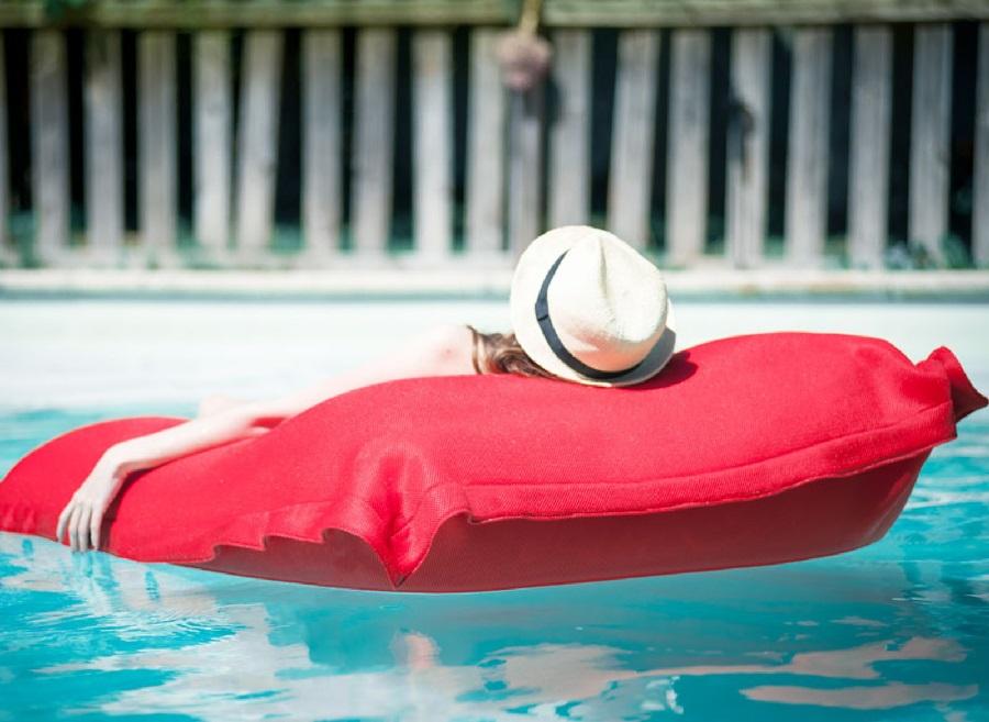 Mobilier de piscine coussin big bag proloisirs