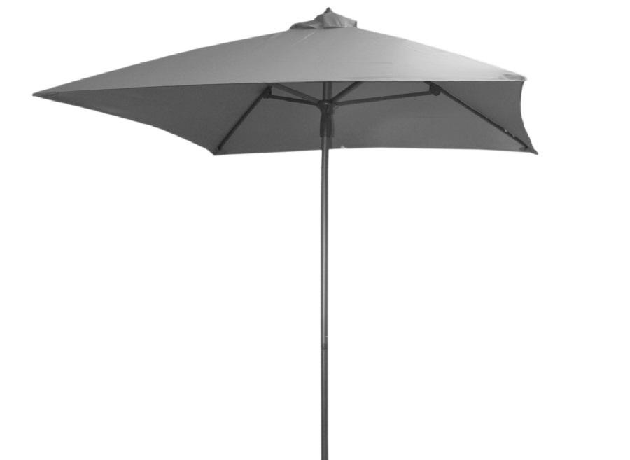 Petit parasol droit aluminium 2 x 2 m Proloisirs