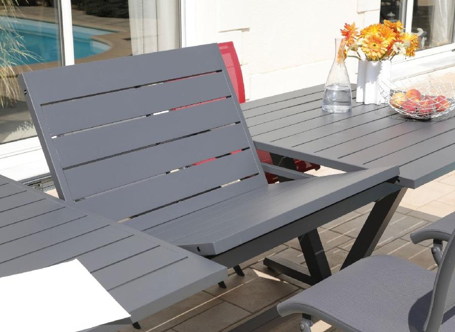 choisir son mobilier de jardin table aube proloisirs