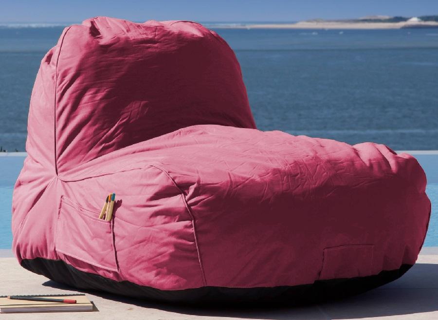 Chaise pouf d'extérieur Malibu proloisirs
