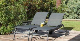 lits de soleil design Proloisirs