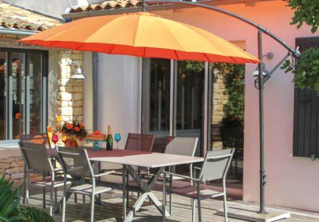 parasol original modèle déporté pagode proloisirs
