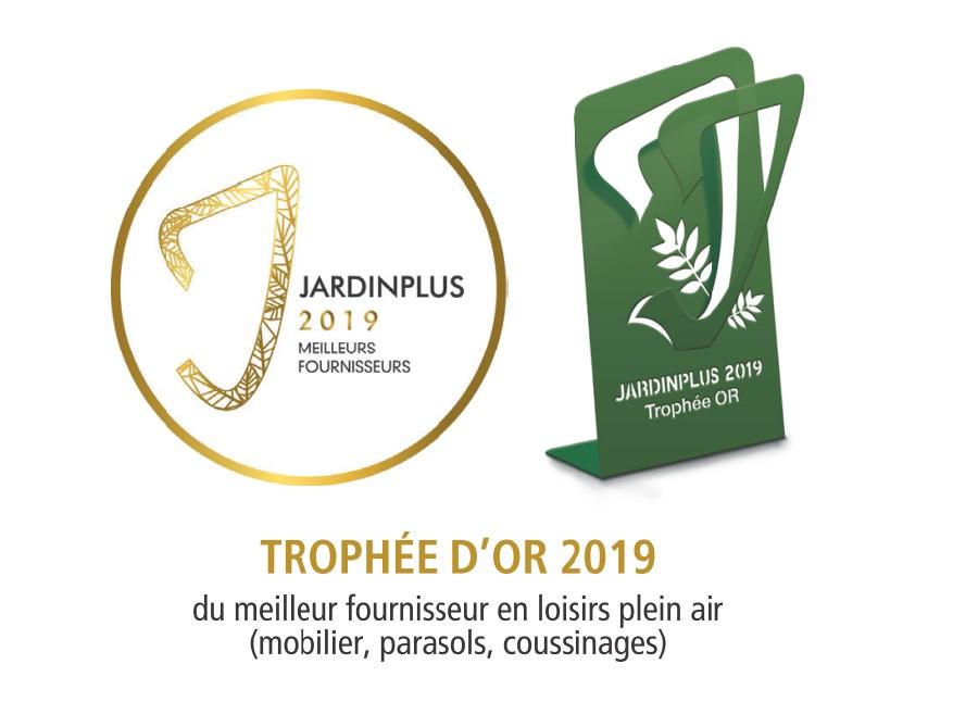 proloisirs récompensé trophée or 2019