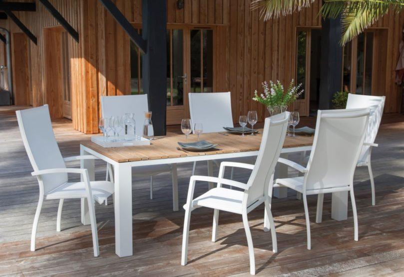 table bois et métal proloisirs